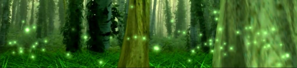 绿色森林萤火虫(图片编号:16052465)_动态|特效|背景