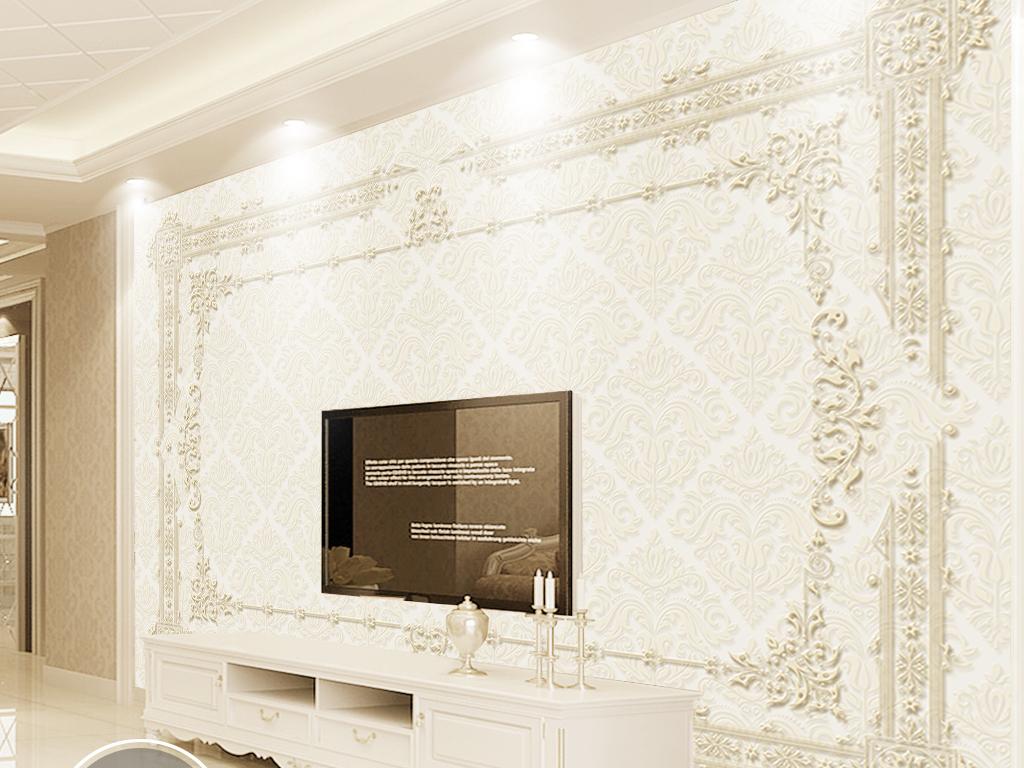 电视背景墙欧式花纹背景墙欧式风格背景墙欧式玄关背景墙欧式花纹电视图片