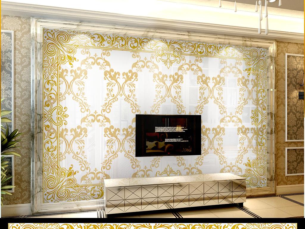 壁画瓷砖画瓷艺墙纸电视墙电视背景墙客厅沙发大厅