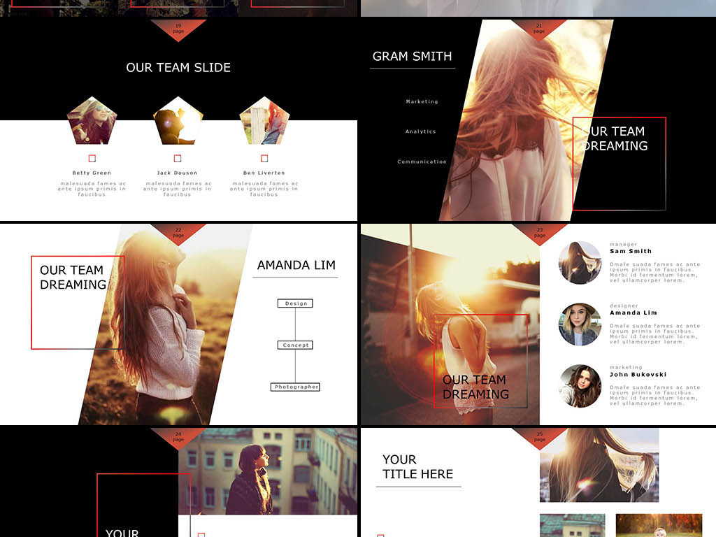 pptx)服装设计ppt服装品牌ppt模板摄影展ppt动态模板