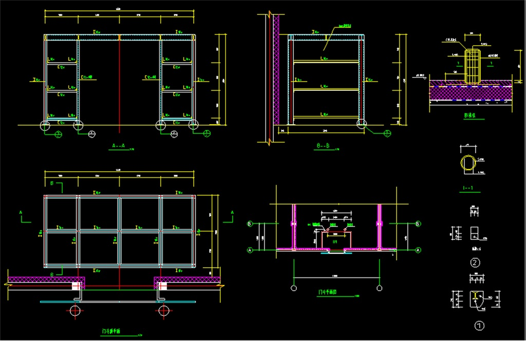 我图网提供精品流行广告牌CAD结构设计图素材下载,作品模板源文件可以编辑替换,设计作品简介: 广告牌CAD结构设计图,,使用软件为 AutoCAD 2006(.dwg) 户外广告牌结构图 户外T型广告 广告牌结构图 结构图 户外施工图 大型户外结构 大型广告牌 大型结构 户外广告牌 门头广告牌 超市广告牌 酒店广告牌 广告牌CAD 广告牌 设计图 结构 广告牌结构 广告牌设计图