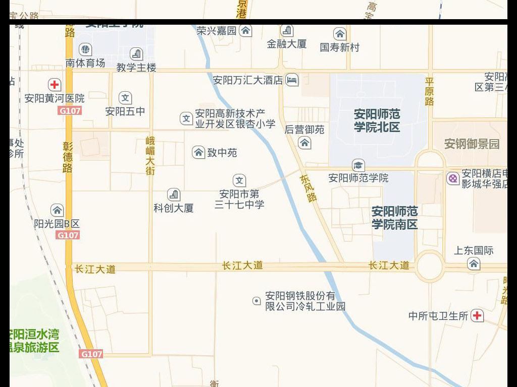 2017安阳市电子地图图片下载