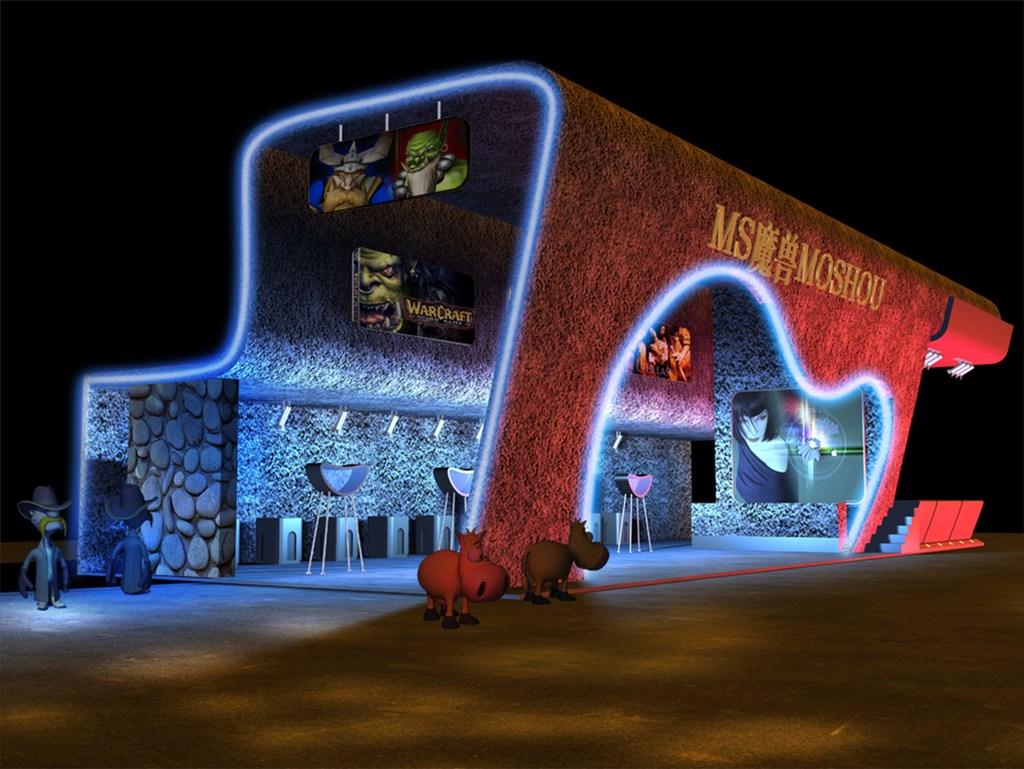 创意展厅模型3dmax