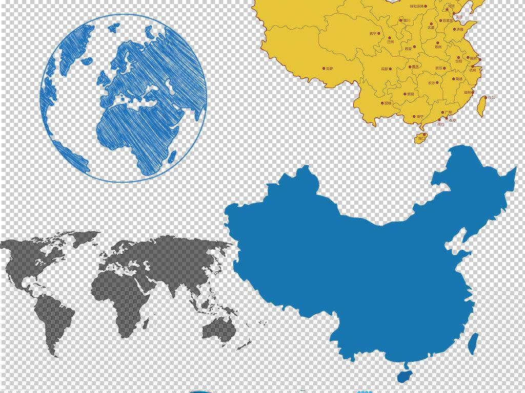 png)卡通地图                                  世界世界地图中国