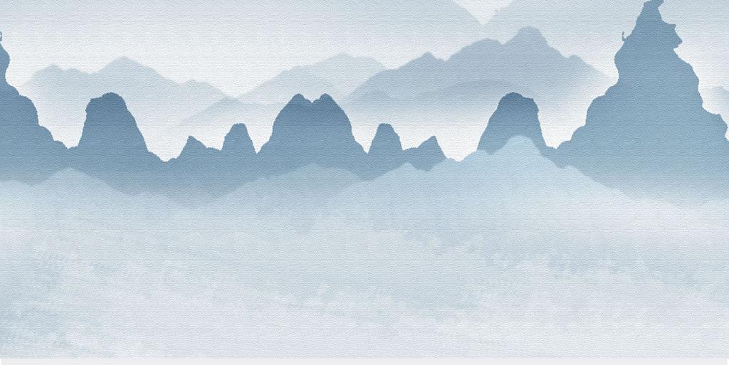 原创手绘意境山水装饰画(图片编号:16064583)_中国风