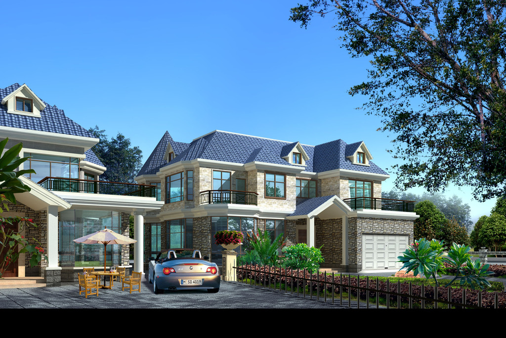 别墅建筑结构施工图