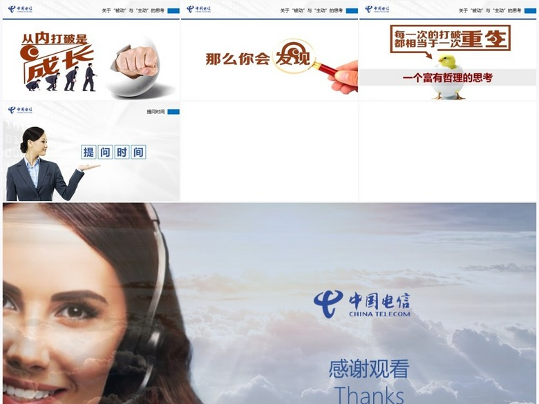 中国电信呼叫中心客服人员服务技能提升培训课
