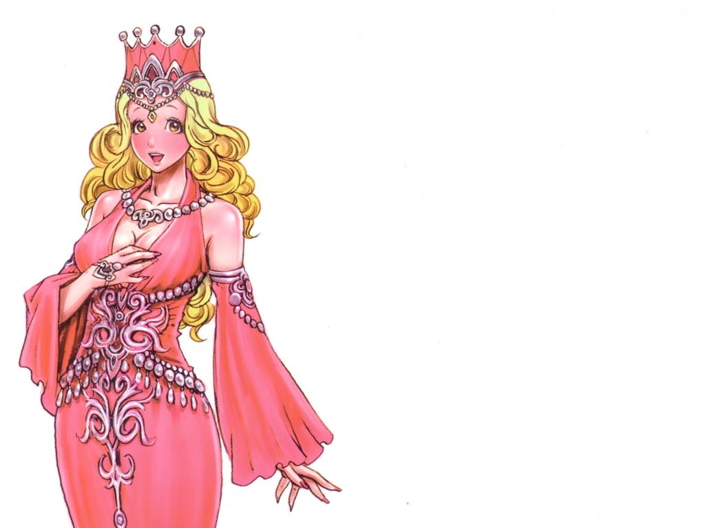 漫画角色手绘美女卡通插画人物设定