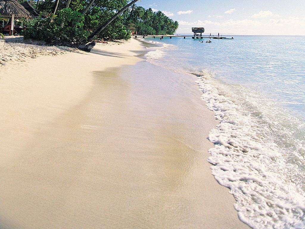 海边风景海岛旅游观光渡假海滩大海 位图, cmyk格式高清大图,使用