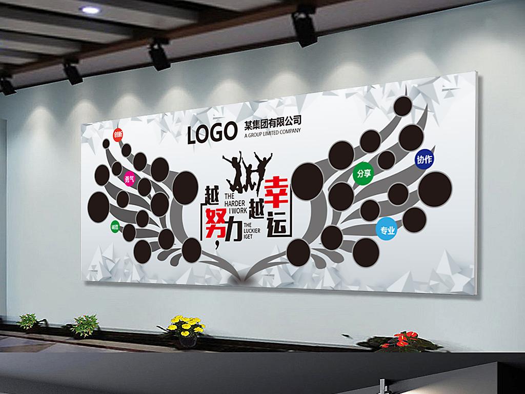 平面|广告设计 展板设计 企业文化墙 > 创意照片墙翅膀照片展板学校图片