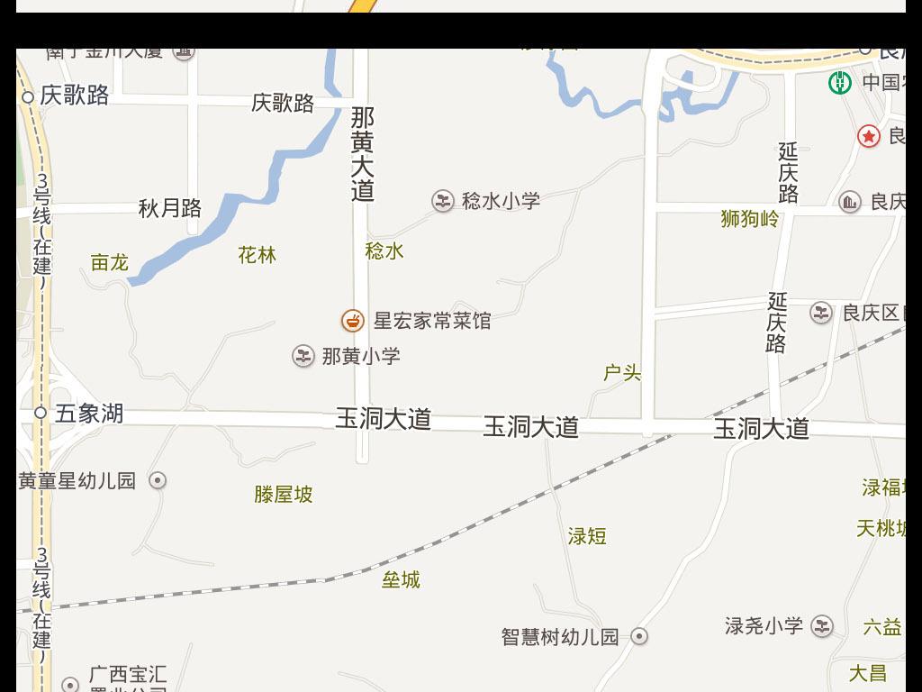 2017南宁电子地图图片下载