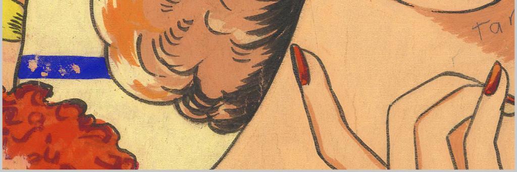 背景墙|装饰画 无框画 人物无框画 > 高清欧式手绘素描抽象女人体无框