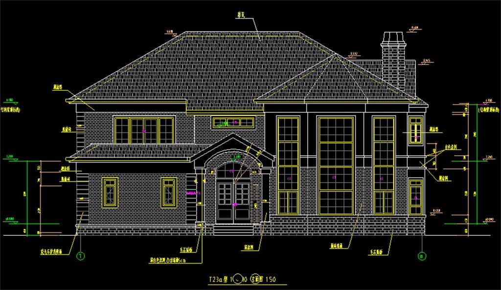 钢结构别墅设计图纸下载