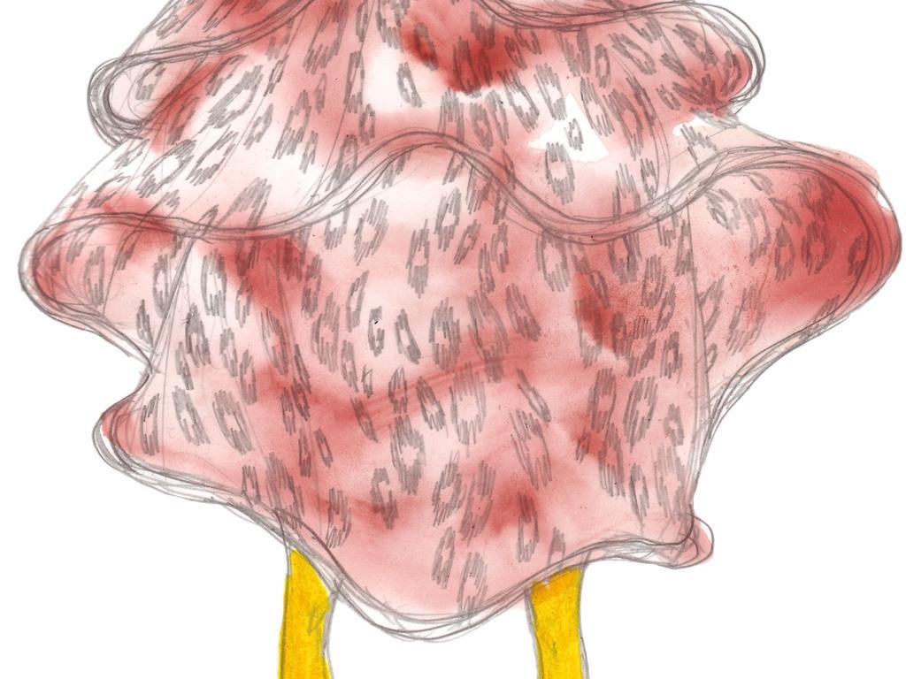 时装设计女装彩铅效果图手绘女装插画女装设计效果图