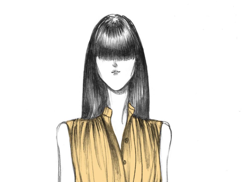 服装效果图设计欧美插画设计女装设计效果图装饰画印刷素材广告大片图片