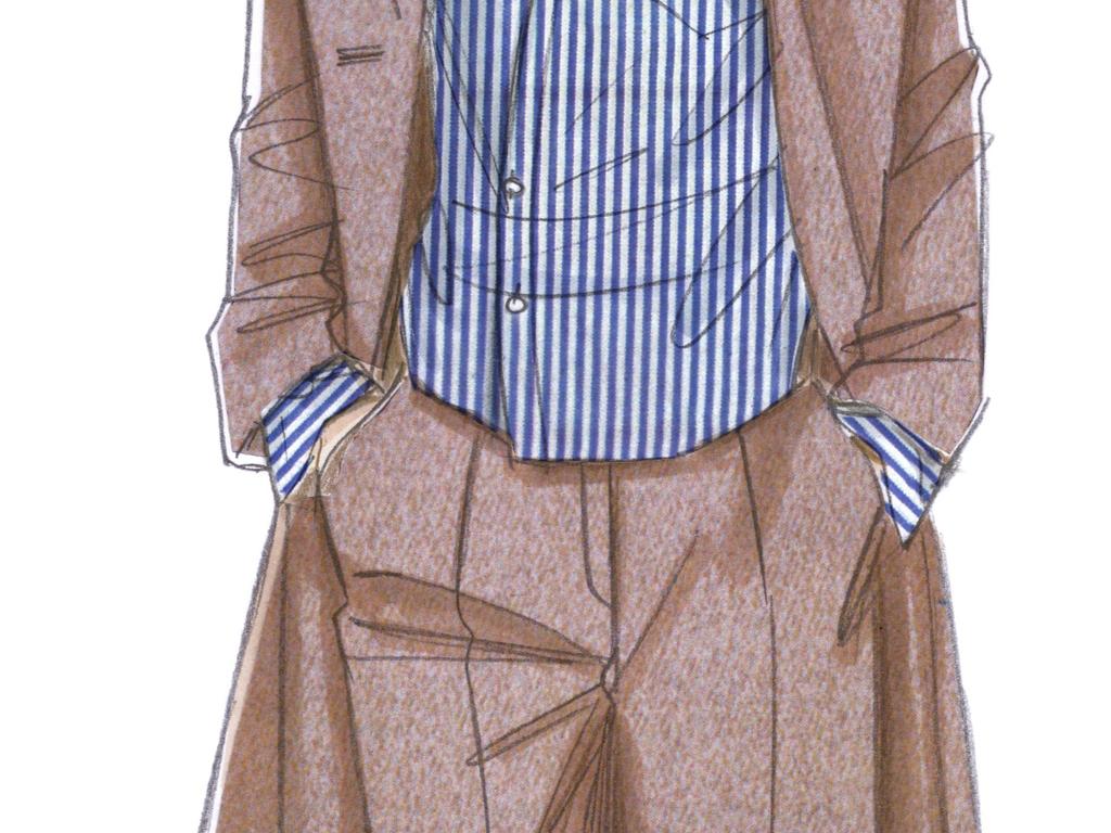 服装款式图效果图cdr服装效果图服装设计手绘效果图