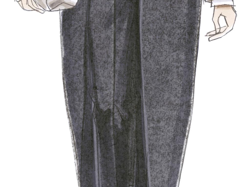 图服装效果图手绘
