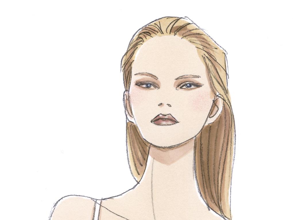 服装效果图女装设计素材高清图女装效果图素材女装高清时装