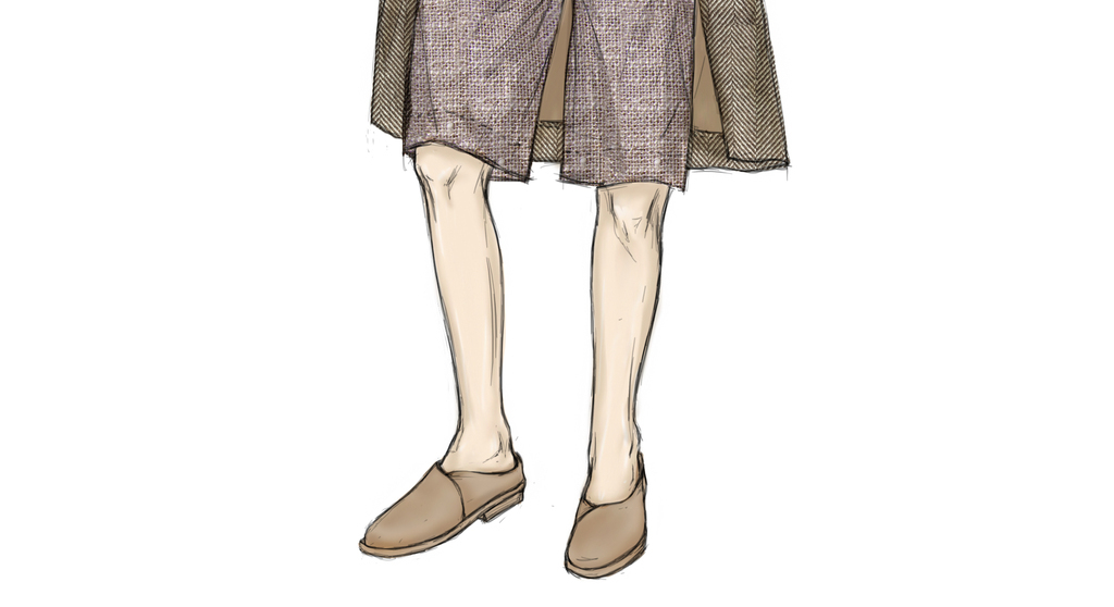 欧美男装高清时装画电脑画设计素材