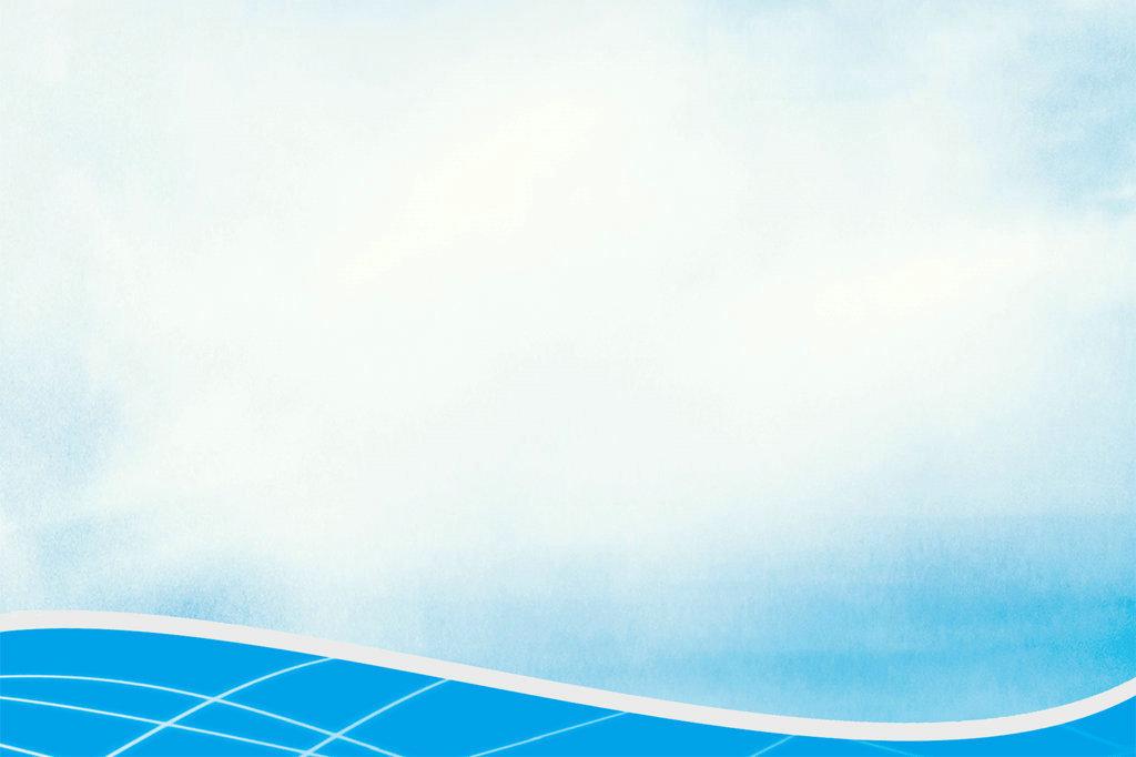 蓝天白云户外背景信纸