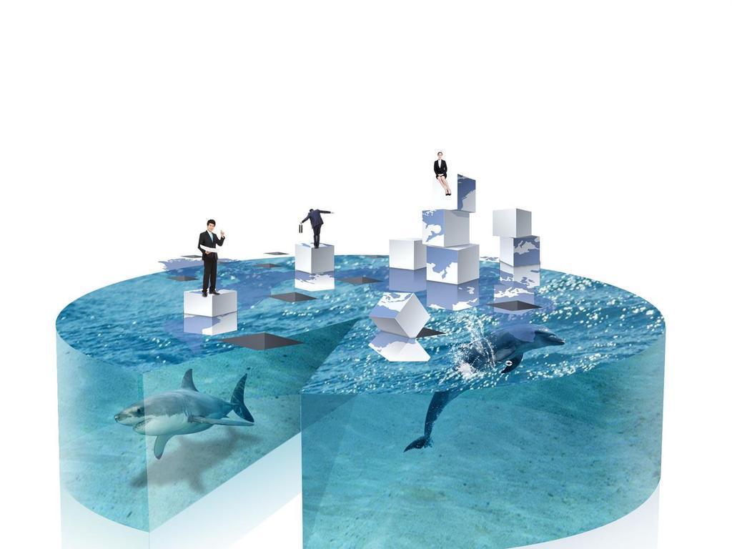 设计宣传画模板素材招贴卡通鲨鱼图片鲨鱼图片鲨鱼