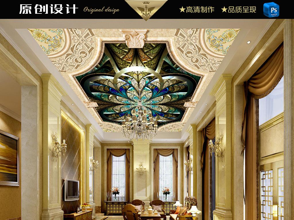 富丽堂皇的走廊图片
