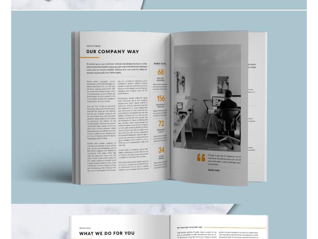 设计作品简介: 企业画册广告画册创意画册