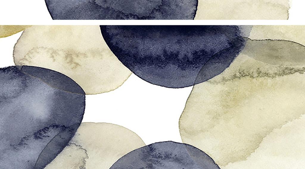 水彩圆圈抽象画(图片编号:16078279)