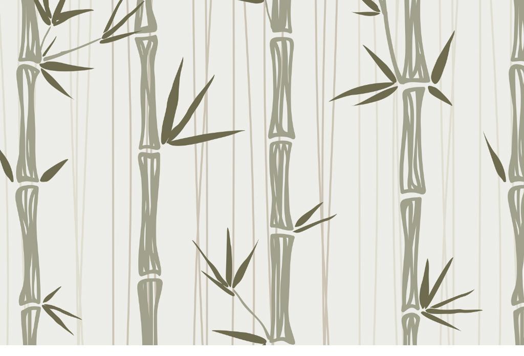 主题背景墙                                  背景墙竹子手绘