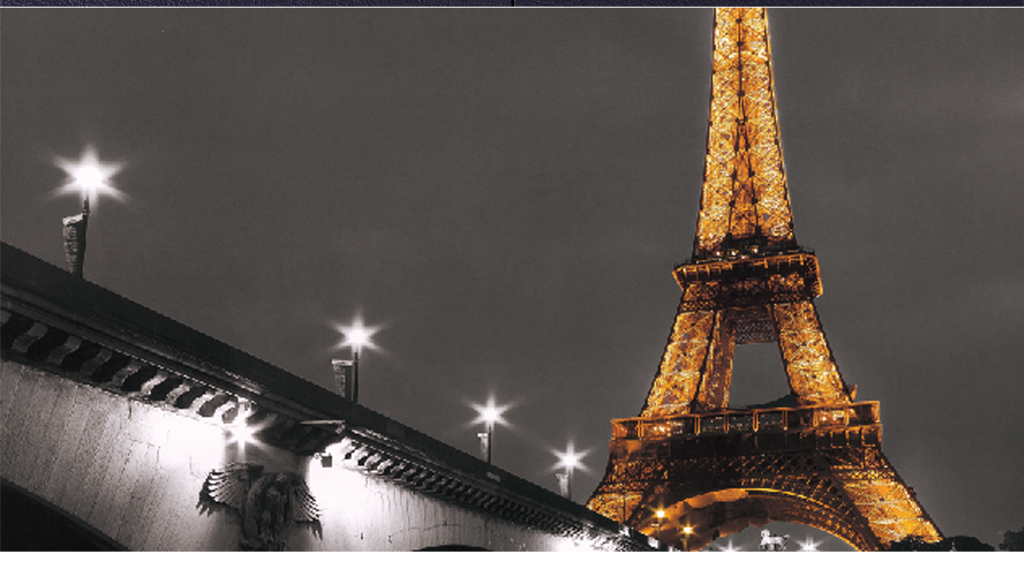 巴黎铁塔夜景(图片编号:16082464)