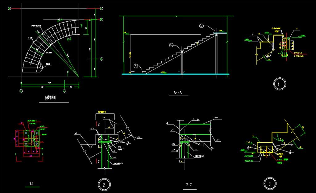 钢结构别墅cad施工图平面设计图下载(图片0.45mb)_cad