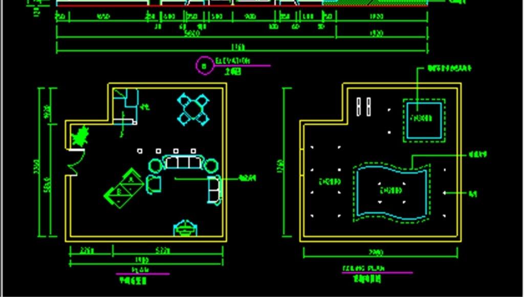 ktv设计平面图cad_ktv设计平面图cad分享展示
