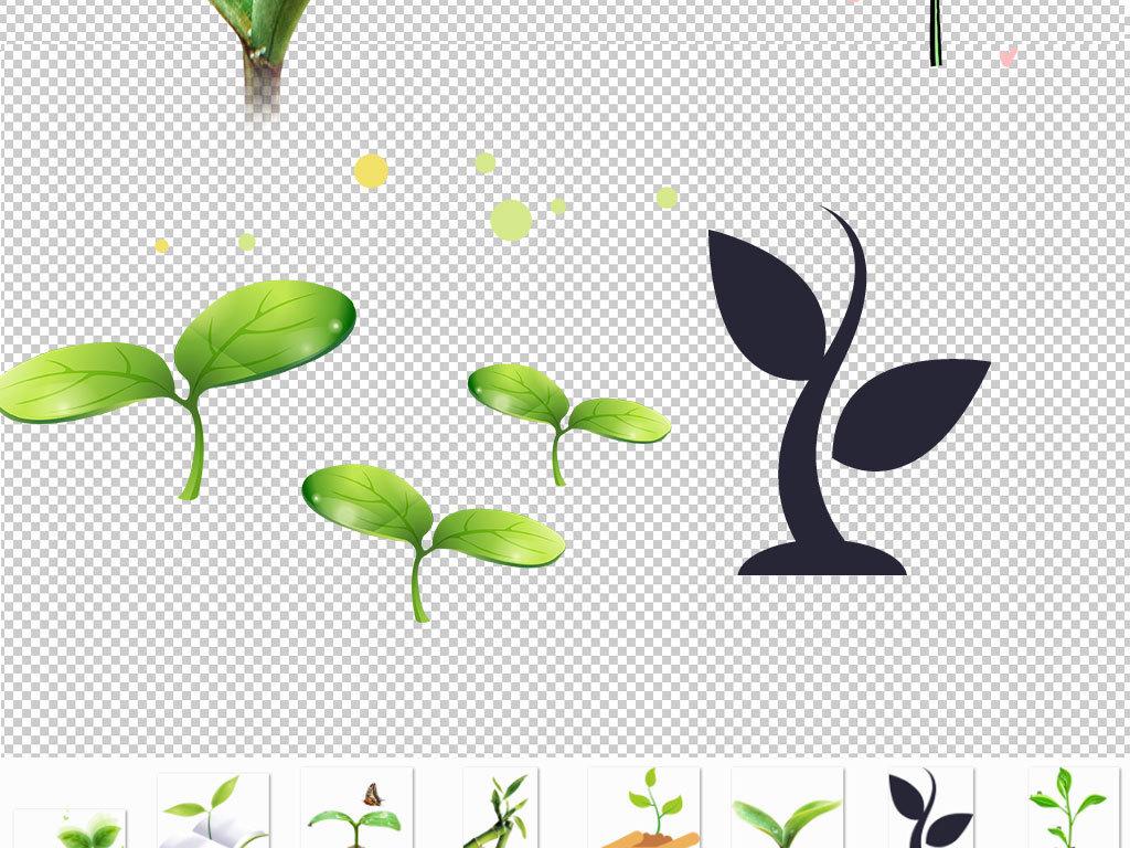 小草卡通小草图片大树和小草图片小草 发芽 小花小草-简笔画大树发芽
