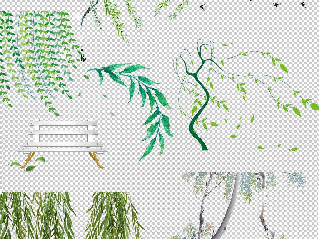设计元素 背景素材 其他 > 春天绿色春季柳树柳条图片  春天绿色春季图片