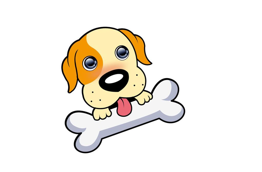 萌狗卡通头像设计