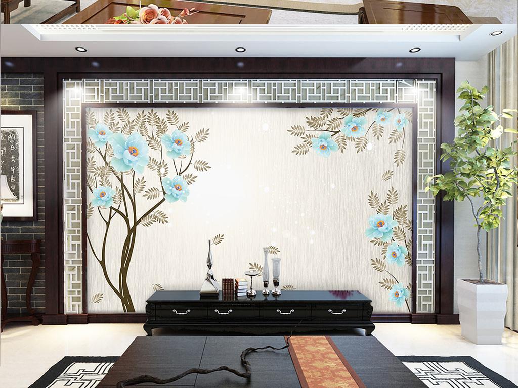 电视背景墙 客厅电视背景墙