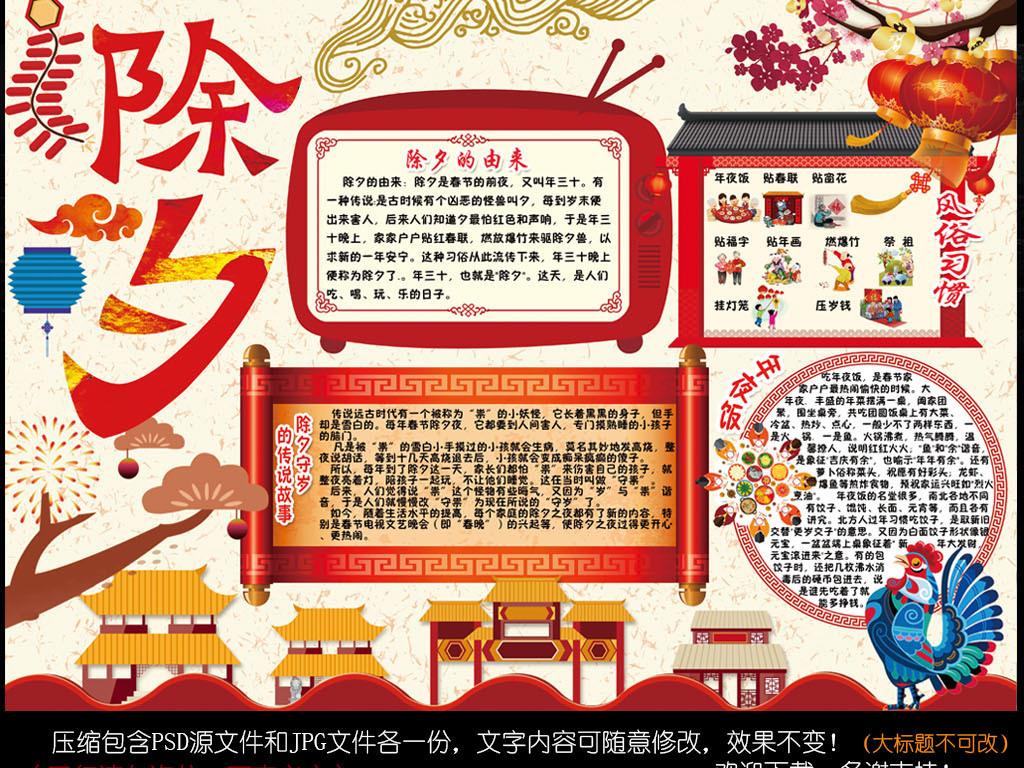 节日手抄报 春节|元旦手抄报