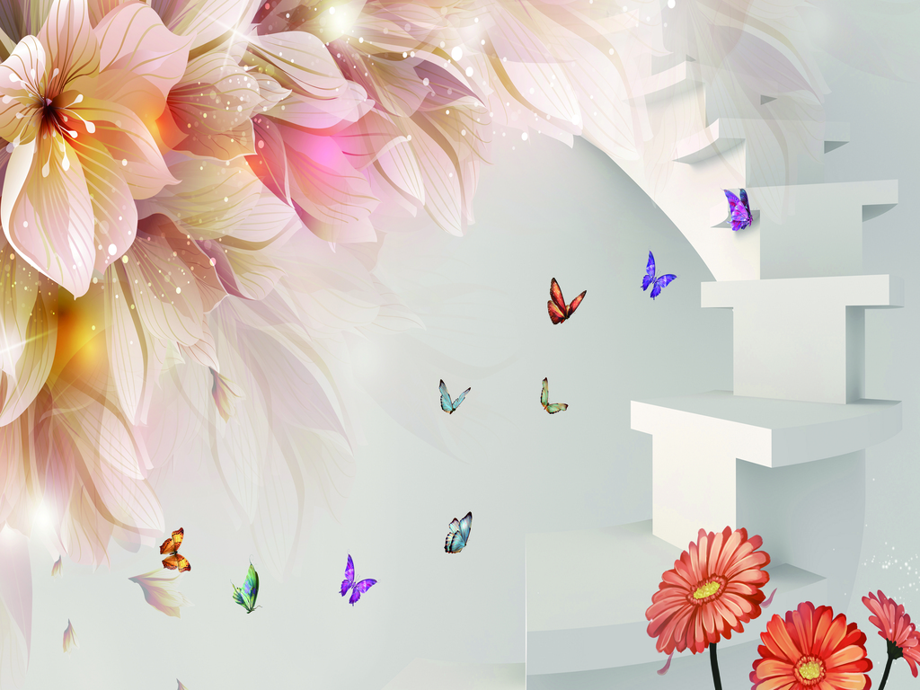 百合花图片白色百合花图片百合花图片大全百合花背景