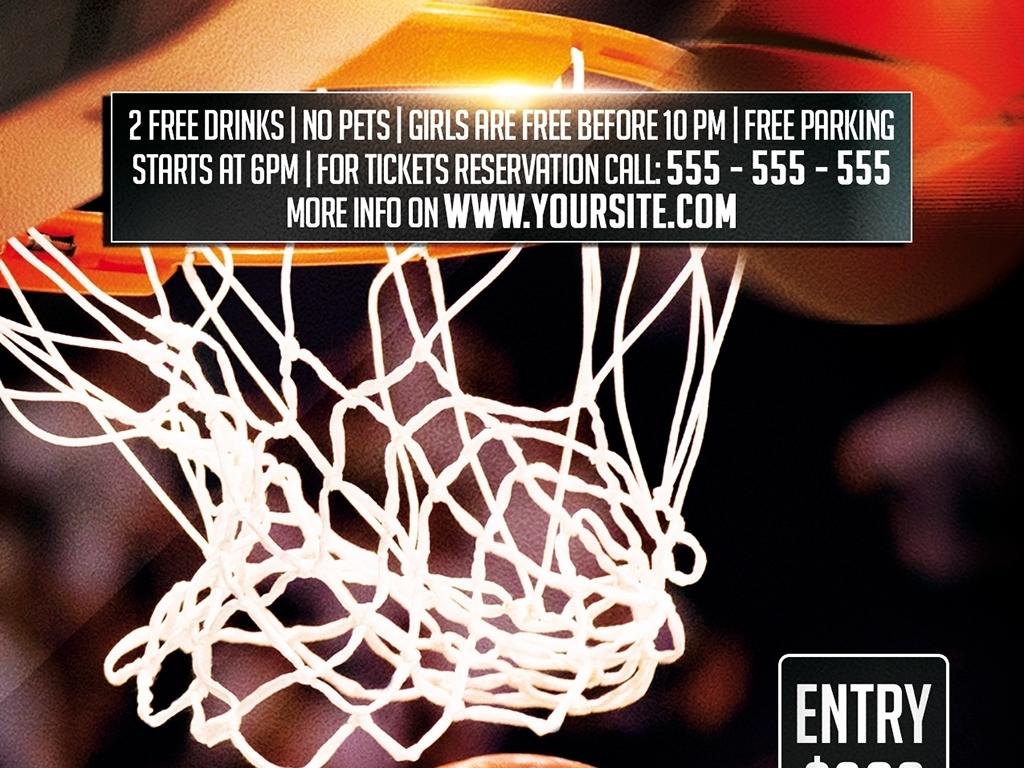 大学校园篮球协会招新比赛PSD宣传海报图片设计素材 高清psd模板下载 41.20MB 国外创意海报大全图片
