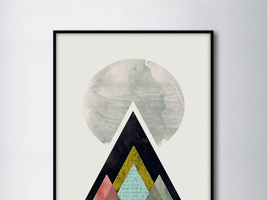 彩铅手绘月亮图片