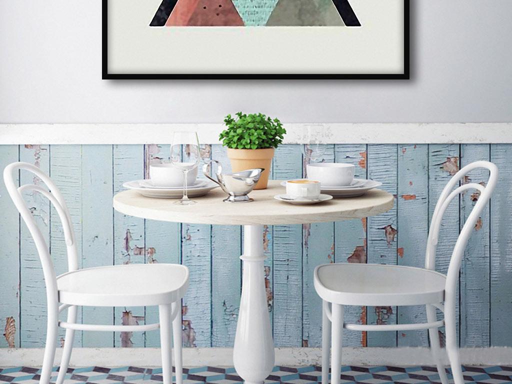 创意餐桌手绘图