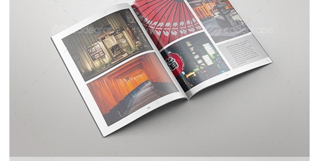 画册模板书籍封面产品画册id模板