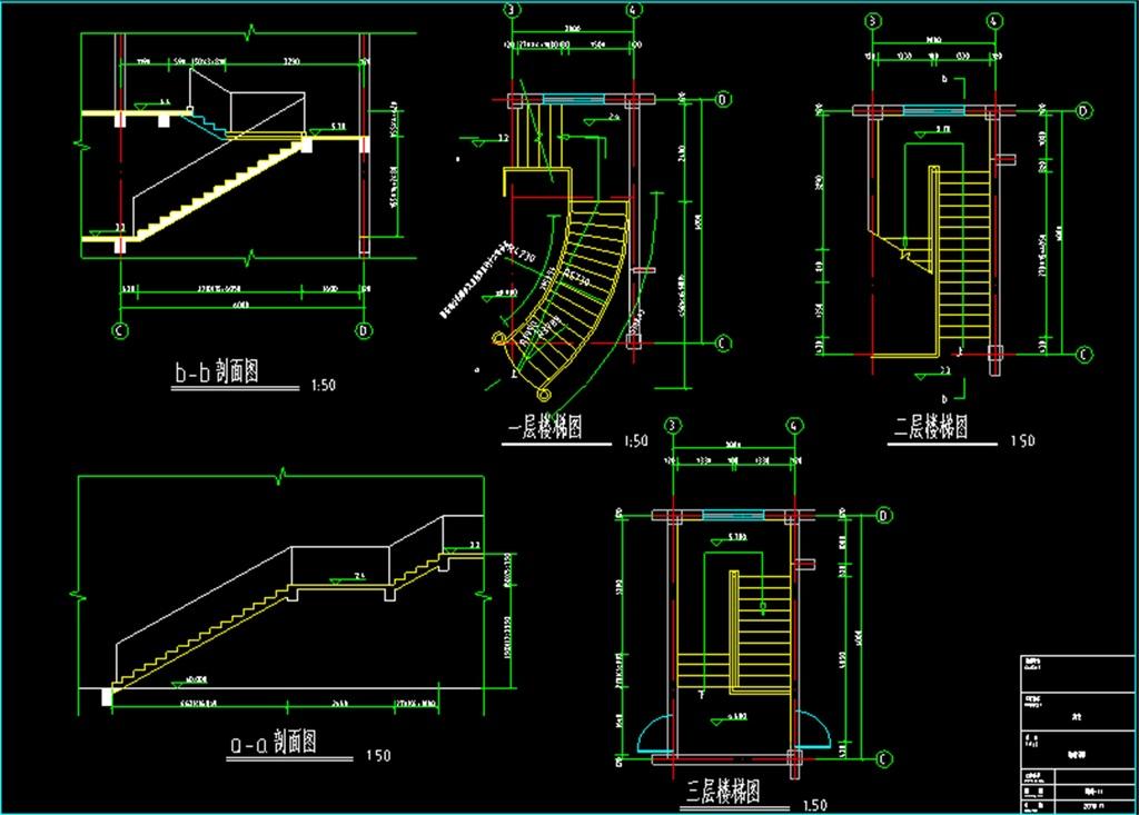 钢结构厂房别墅cad别墅cad结构设计图别墅cad施工图