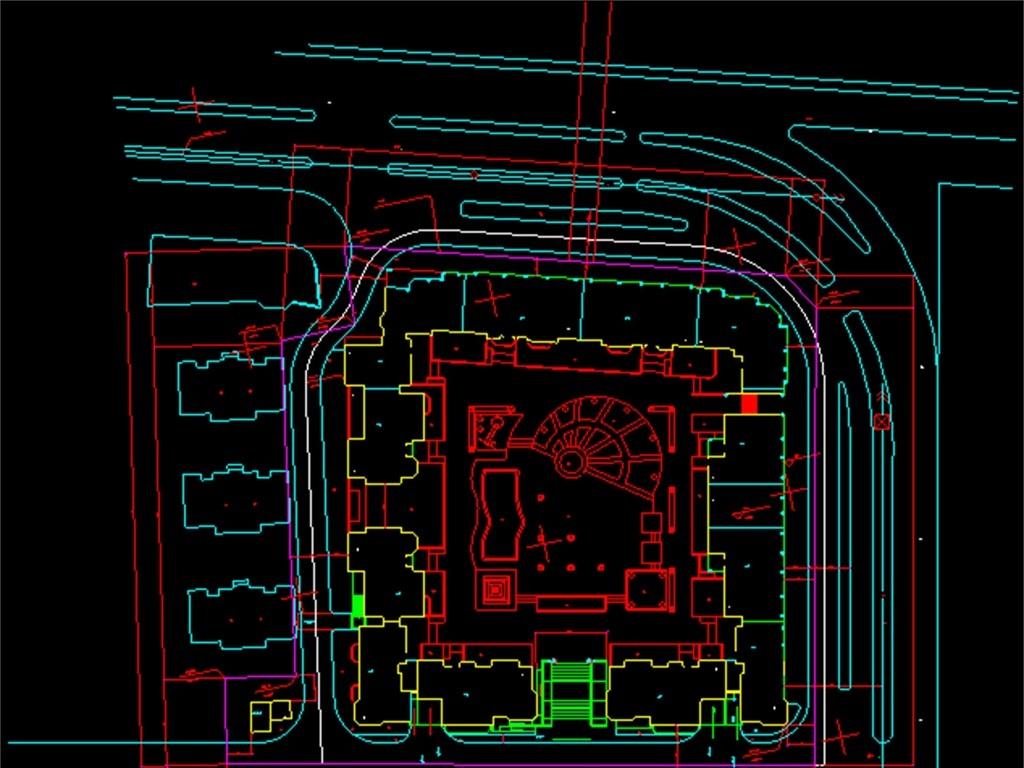 住宅小区CAD设计图