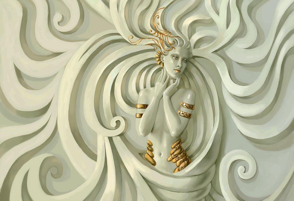 2017欧式浮雕美女图片