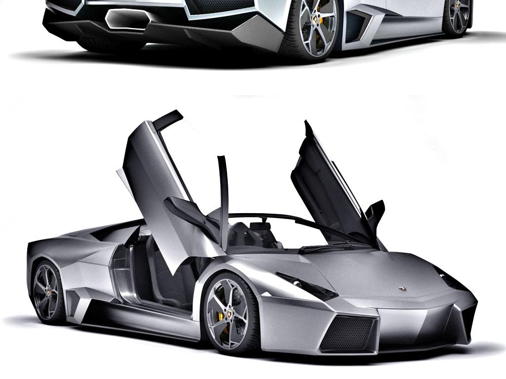 兰博基尼汽车3d模型