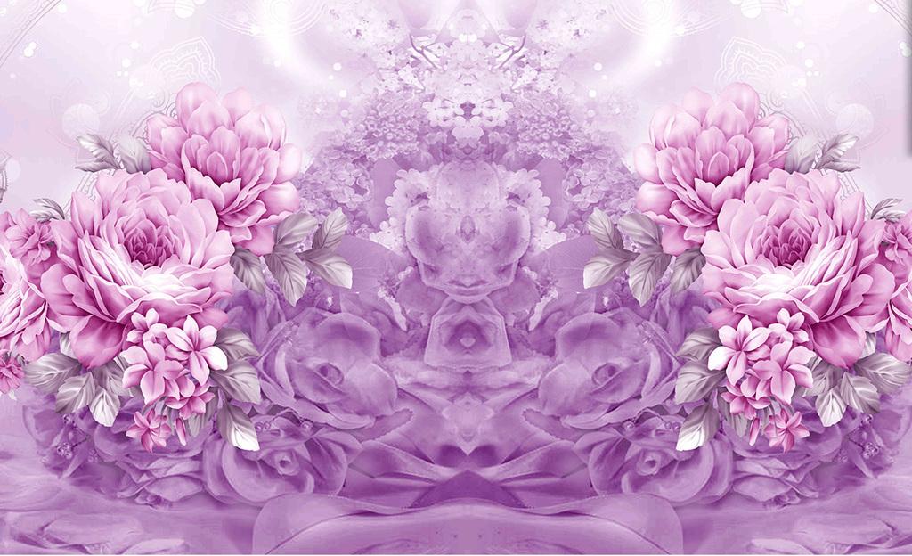紫色梦幻薰衣草
