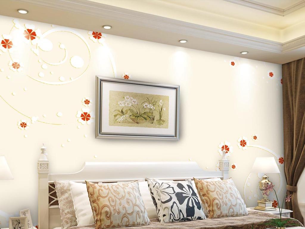 背景墙|装饰画 电视背景墙 手绘电视背景墙 > 手绘浮雕欧式花朵背景墙