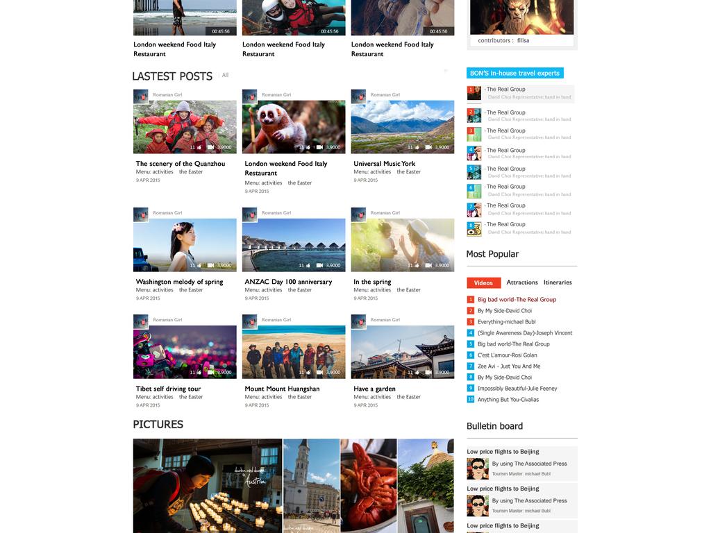 8款网站模板h5页面模板