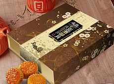 <strong>中秋月饼</strong>包装礼盒(平面展开图)